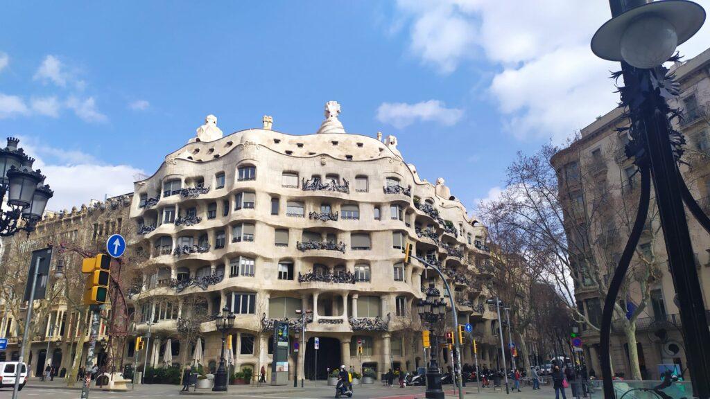 Работы Антонио Гауди в Барселоне
