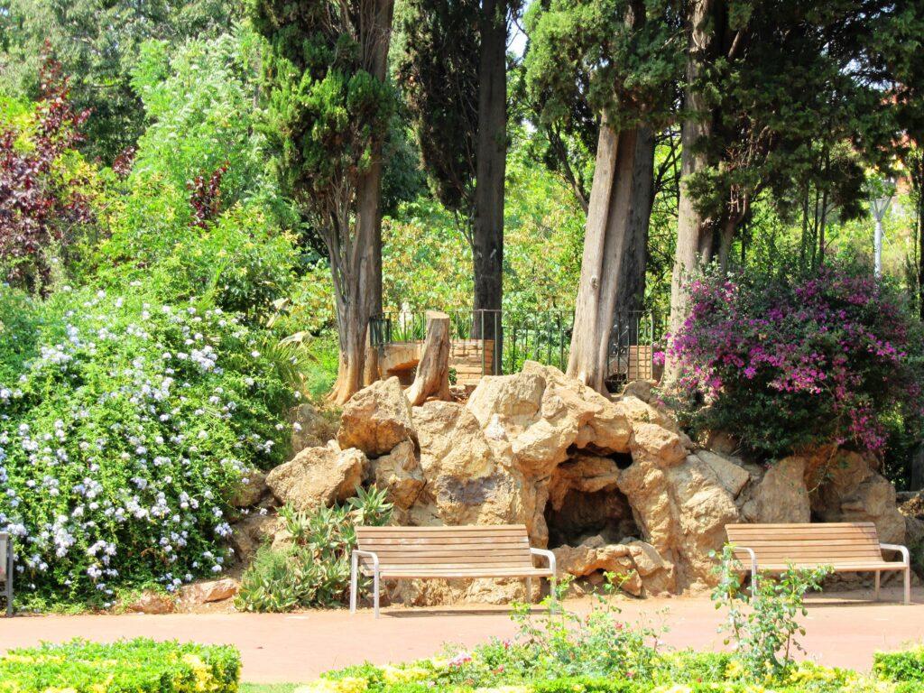парки в Барселоне