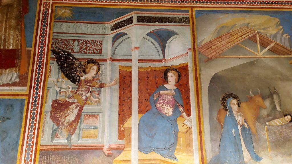фрески в монастыре Педральбес