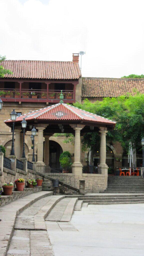 Барселона испанская деревня