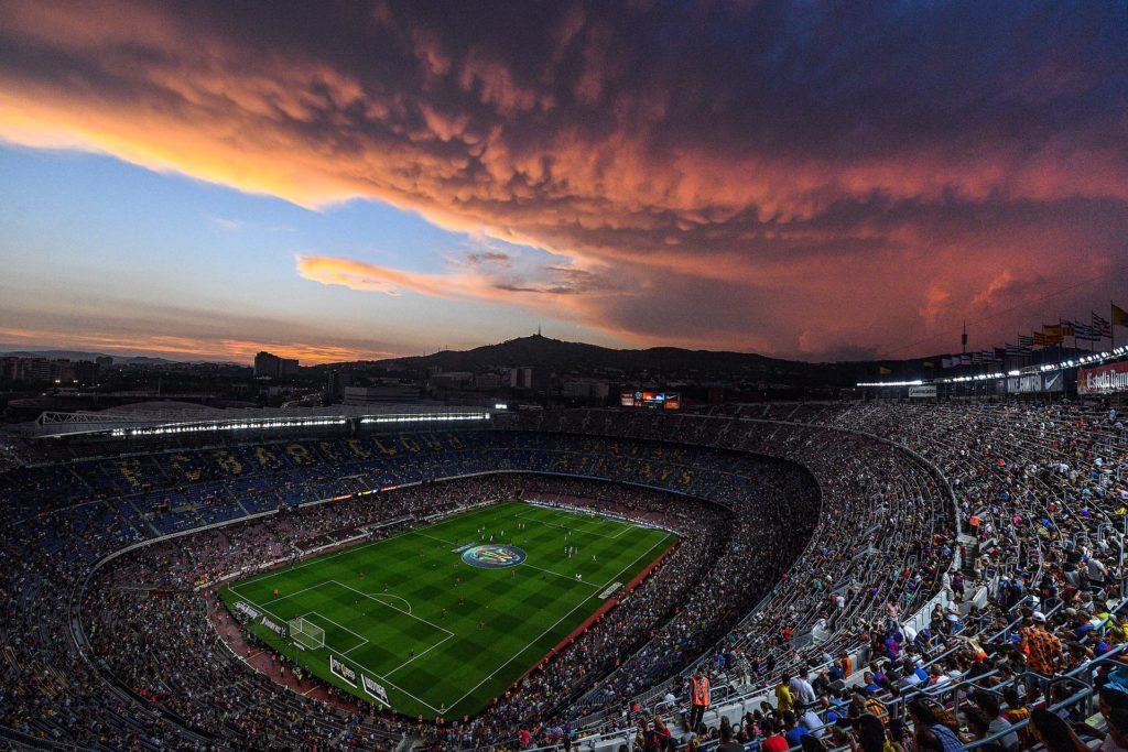 стадион Камп Ноу в Барселоне