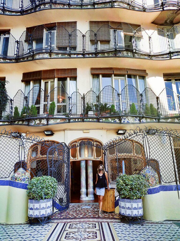 Дом Бальо Гауди в Барселоне