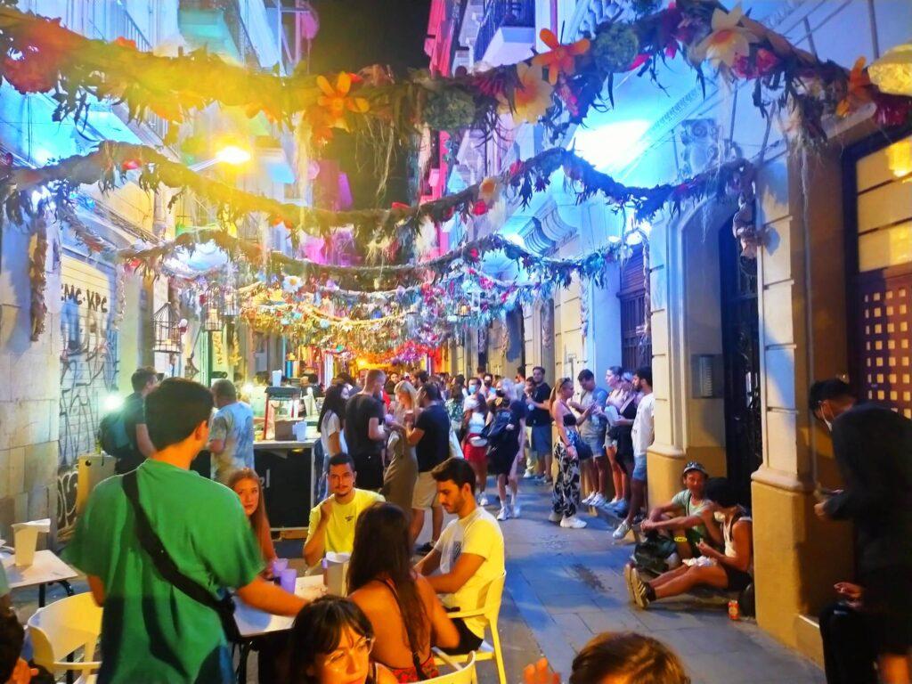 праздник Грасии в Барселоне