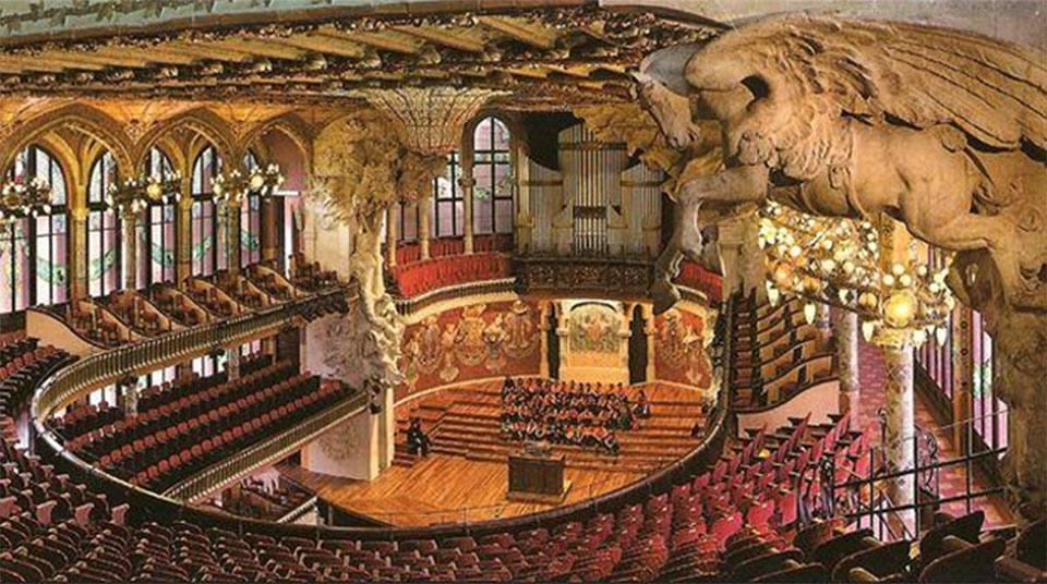 Дворец Каталонской музыки 10