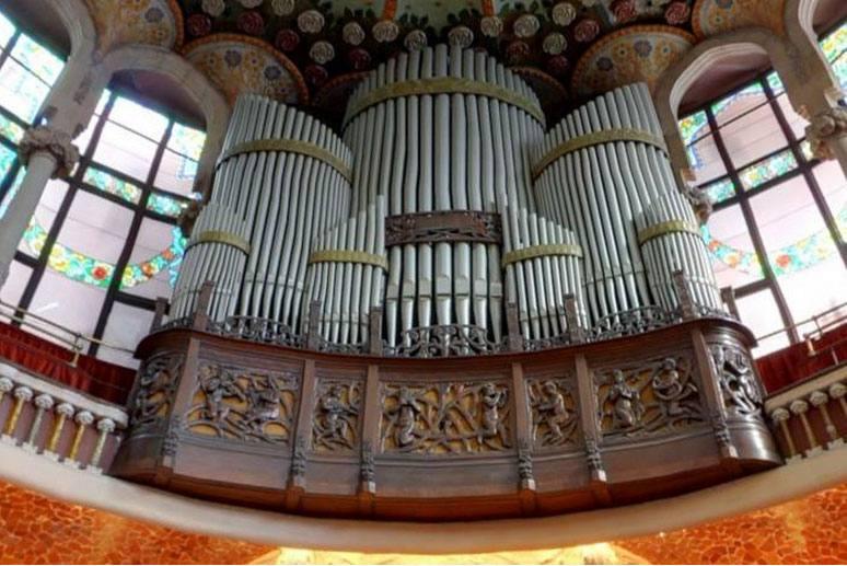 Дворец Каталонской музыки 11