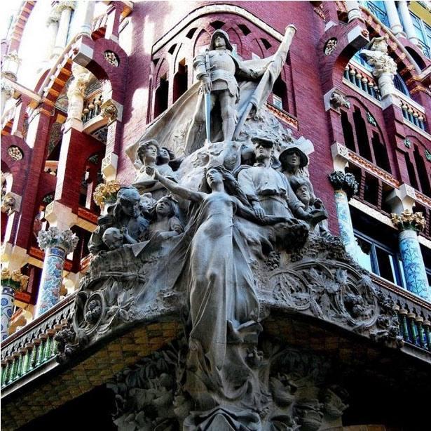 Дворец Каталонской музыки 3