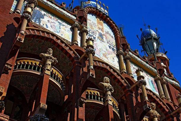 Дворец Каталонской музыки 4