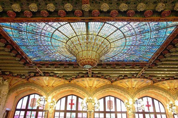Дворец Каталонской музыки 8
