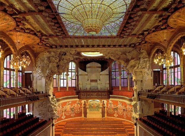 Дворец Каталонской музыки 9