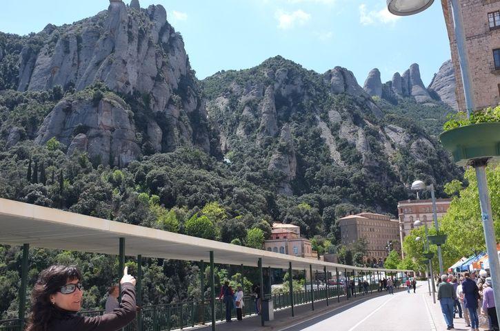 Гора и монастырь Монсеррат - 1